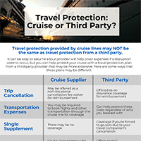Cruise Insurance vs Third Party Provider