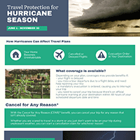 Travel Protection for Hurricane Season